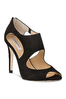 LK BENNETT Alma cut-out court shoes