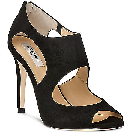 LK BENNETT Alma cut-out court shoes (Bla-black