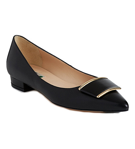 LK BENNETT Amelia leather pumps (Bla-black