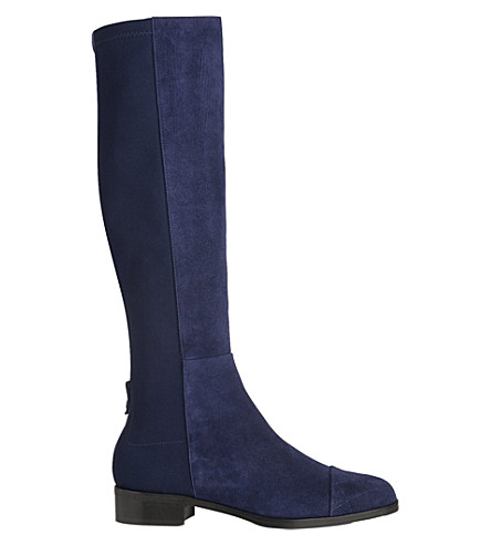 lk bambra suede knee high boots selfridges