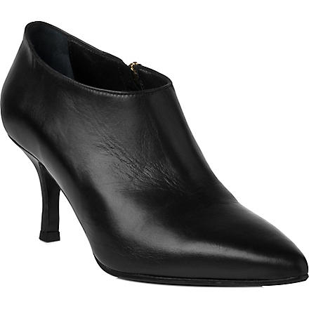 LK BENNETT Bianca leather shoe boots (Bla-black