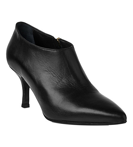 LK BENNETT Bianca leather shoe boots (Bla-black