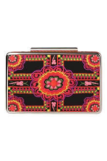 LK BENNETT Cherry box clutch