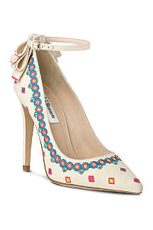 LK BENNETT Corinne embroidered court shoe