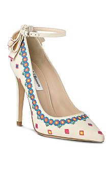 LK BENNETT Corinne embroidered court shoe