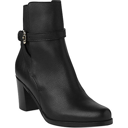 LK BENNETT Dionne leather ankle boots (Bla-black