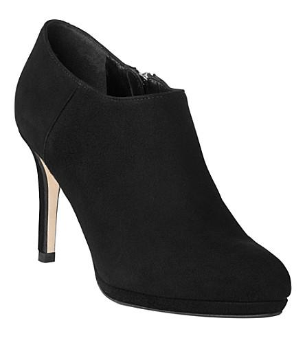 LK BENNETT Doreen suede shoe boots (Bla-black