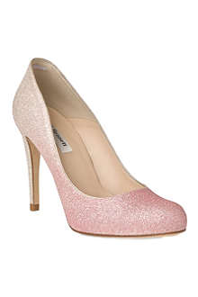 LK BENNETT Dottie glitter heels