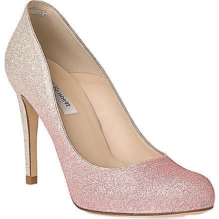 LK BENNETT Dottie glitter heels (Pin-ballerina