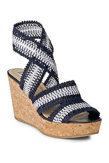 LK BENNETT Eimear cork wedge sandals
