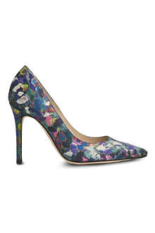 LK BENNETT Fern aurora print court shoes