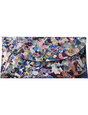 LK BENNETT Aurora floral print clutch