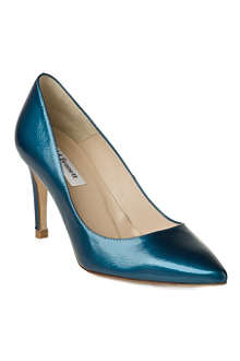 LK BENNETT Floret patent leather courts