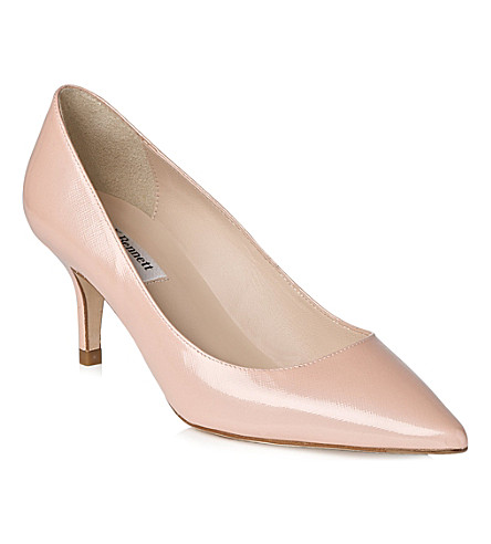 LK BENNETT Florisa patent leather courts (Pin-rose