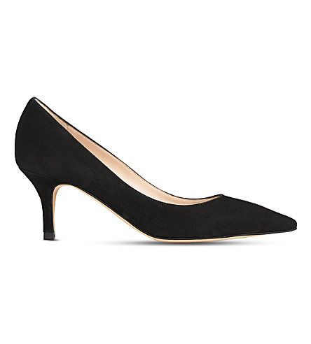 LK BENNETT Florisa leather court (Bla-black