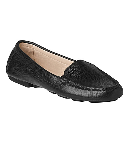 LK BENNETT Gail driving shoes (Bla-black