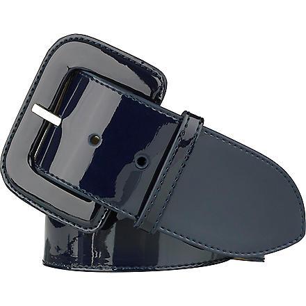 LK BENNETT Gianna wide belt (Blu-navy