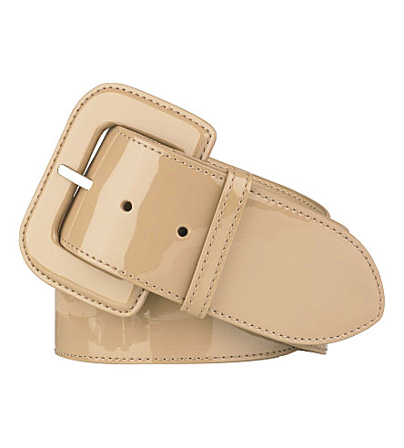 LK BENNETT Gianna wide belt (Tau-taupe
