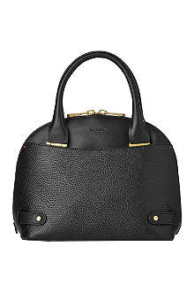 LK BENNETT Jemima leather bowling bag