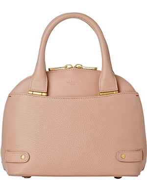 LK BENNETT Jemima mini leather bowling bag