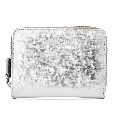 LK BENNETT Kiara leather purse (Sil-silver