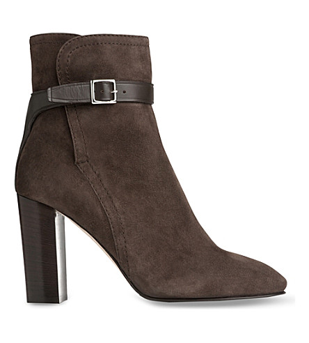 LK BENNETT Kiely suede ankle boots (Gry-charcoal