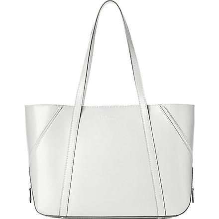 LK BENNETT Kiki leather tote (Whi-white