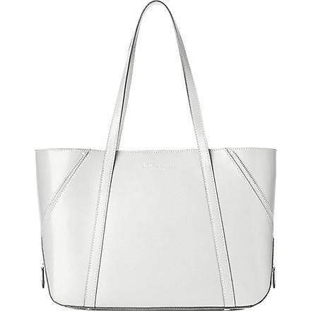 LK BENNETT Kiki leather tote (Whi-white