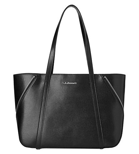 LK BENNETT Kiki small winged tote bag (Bla-black