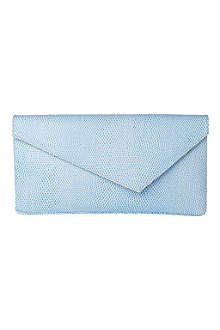 LK BENNETT Leonie leather clutch