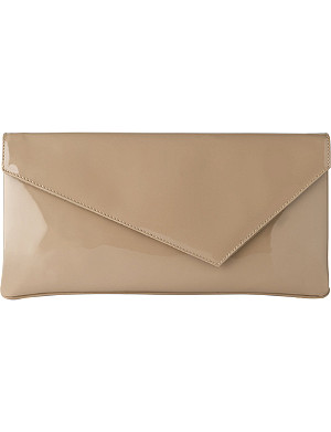 LK BENNETT Leonie patent leather clutch