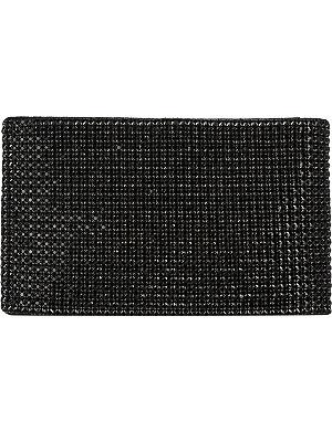 LK BENNETT Liliana crystal mesh clutch bag
