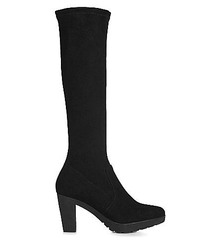 lk minka knee high suede boots selfridges