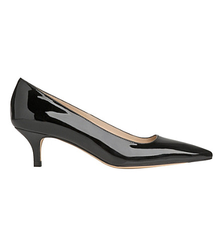 LK BENNETT Minu patent-leather courts (Bla-black