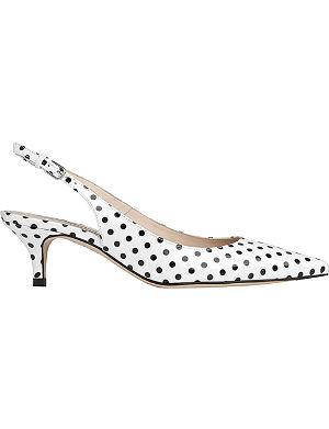 LK BENNETT Mira slingback court shoes