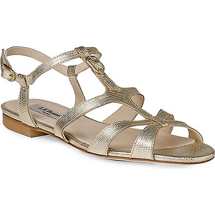 LK BENNETT Naomi gladiator sandals (Gol-softgold