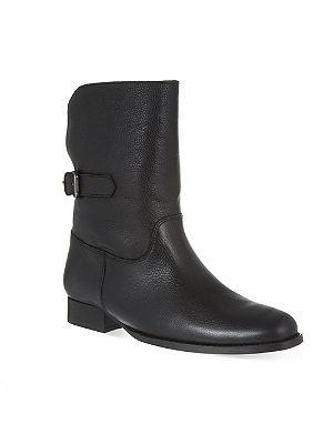 LK BENNETT Neve shearling ankle boots