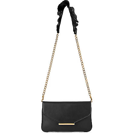 LK BENNETT Riri leather shoulder bag (Bla-black