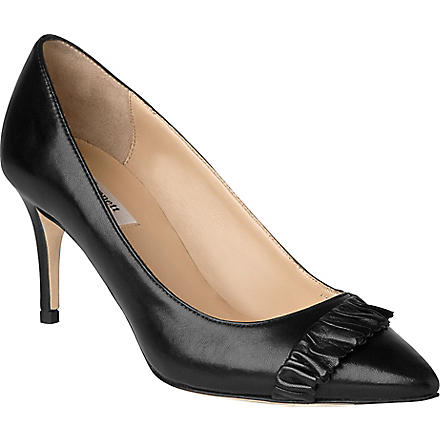 LK BENNETT Roisin leather courts (Bla-black