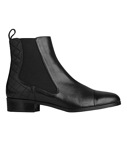 LK BENNETT Ronia leather chelsea boots (Bla-black