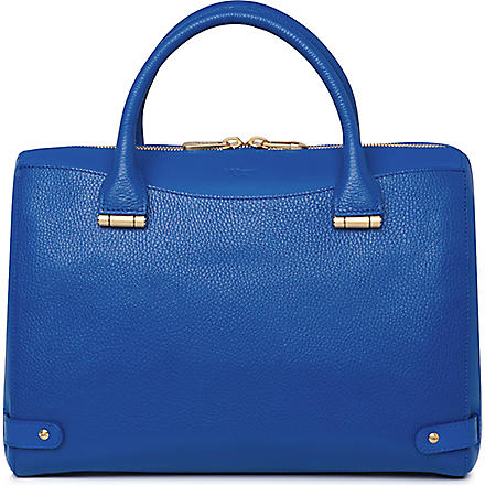 LK BENNETT Rosamund medium leather tote (Blu-snorkel