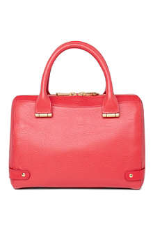 LK BENNETT Rosie small leather bowling bag