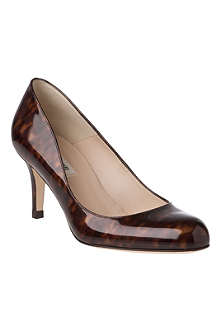 LK BENNETT Sabira patent leather courts