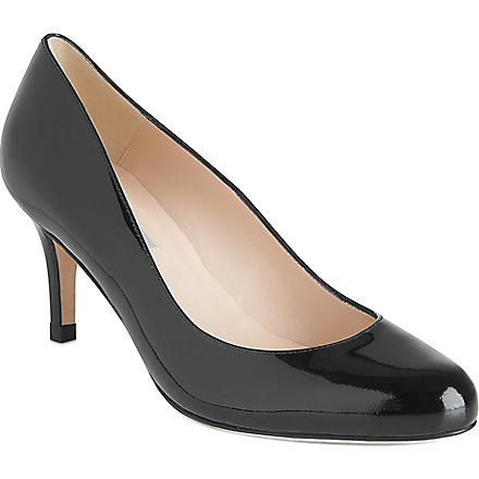 LK BENNETT Samira patent leather courts (Bla-black