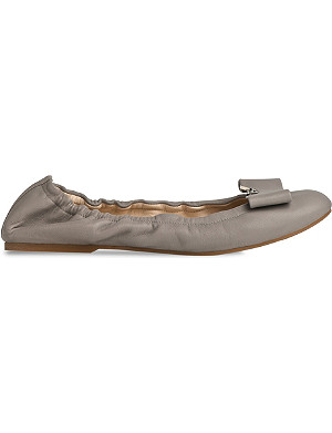 LK BENNETT Samy leather ballerina flats