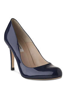 LK BENNETT Stila patent leather court shoes