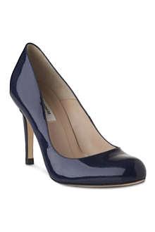 LK BENNETT Stila patent leather court shoes