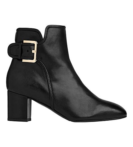 LK BENNETT Siara heeled ankle boots (Bla-black