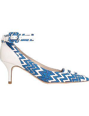 LK BENNETT Silvana printed court shoes