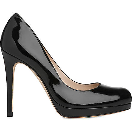 LK BENNETT Sledge patent leather courts (Bla-black